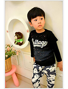 Long Sleeve Cotton Family Clothing Sets,Summer / Spring Hoodie & Sweatshirt