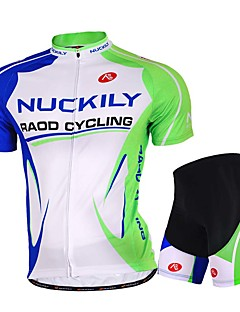 Sports® Cycling Jersey with Shorts Men's Short Sleeve Breathable / Stretch / Sweat-wicking Bike Jersey + Shorts / Tops / Bottoms Mesh