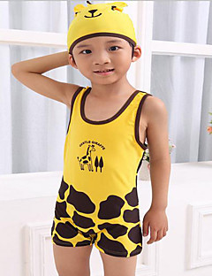 Boy Polyester Swimwear,Summer Sleeveless