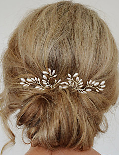 Women's Fashion Simple Sweet Pearl Refinement Flower Hairpin Hair Accessories 1 Piece