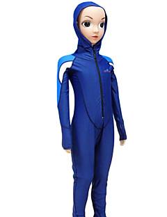 Mulheres Homens Crianças Roupas de mergulho Mergulho Skins Capuz de Mergulho Wetsuits completosResistente Raios Ultravioleta Compressão