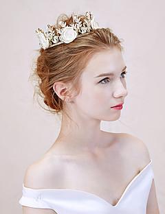 Damen Legierung Kopfschmuck-Hochzeit Tiara 1 Stück