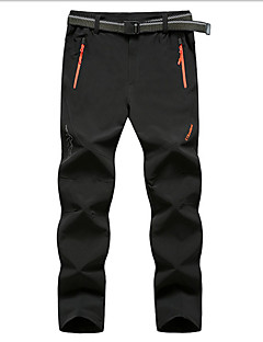 XAOYO® Calças Para Ciclismo Homens Vestível Moto Fundos Tosão Cor Única Exercicio e Fitness Primavera / Verão / Outono