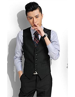 Vests Cotton Black / Gray