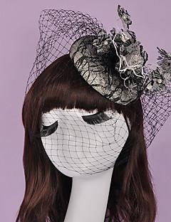 Ženy Malé družičky Bavlna Přílba-Svatba Zvláštní příležitost Ozdoby do vlasů Jeden díl