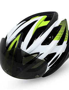 Capacete(Verde / Vermelho / Outras,PC / EPS) -Montanha / Estrada-Unisexo 14 AberturasCiclismo / Ciclismo de Montanha / Ciclismo de
