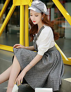 DABUWAWA Women's Going out / Party/Cocktail / Holiday Vintage / Punk & Gothic / Sophisticated A Line / Sheath / Skater Dress