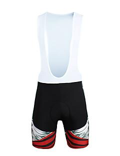 PALADIN® מכנס קצר ביב לרכיבה לגבריםנושם / ייבוש מהיר / עמיד / עיצוב אנטומי / עמיד אולטרה סגול / מבודד / חדירות ללחות / לביש / נגד חשמל