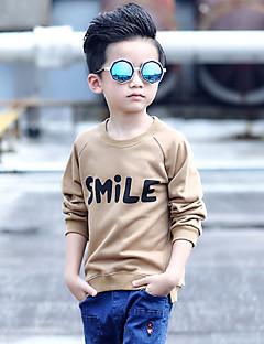 Boy's Casual/Daily Print Hoodie & Sweatshirt,Cotton Winter / Fall Green / Yellow