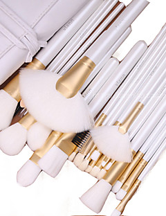 26 Makeup Brushes Set Goat Hair Portable Wood Face Others
