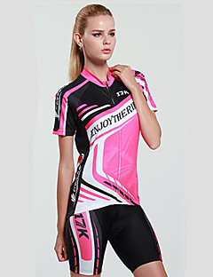 MYSENLAN® Cycling Jersey with Shorts Women's Short Sleeve BikeBreathable / Quick Dry / Ultraviolet Resistant / Moisture Permeability /