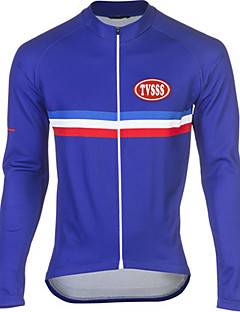 Sports® Cycling Jersey Men's Long Sleeve Breathable / Thermal / Warm / Windproof / Wearable / Soft Bike Tops Terylene / LYCRA®Classic /