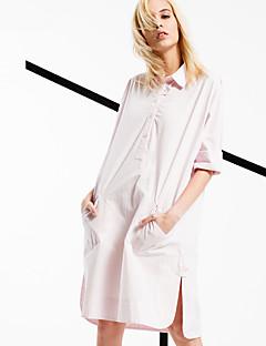 ARNE® Dames Overhemdkraag Lange mouw Shirt & Blouse Orange-6201
