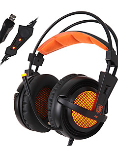 Sades A6 Cascos(cinta)ForReproductor Media/Tablet / ComputadorWithCon Micrófono / DJ / Control de volumen / Radio FM / De Videojuegos /