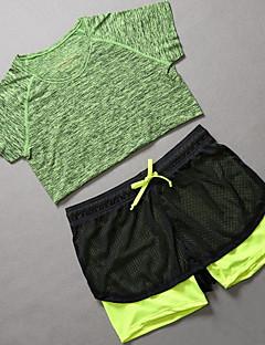 Jóga Sady oblečení/Obleky Prodyšné / Komprese / Pohodlné Natahovací Sportovní oblečení Dámské-Sportovní,Jóga