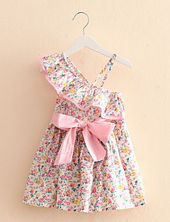 The New Children'S Clothing For Girls Floral Sleeveless Dress Skirt Baby Child Tide Products