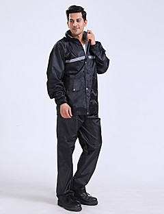 Warning Wide Luminous Black Raincoat Tier air Safety Reflectors