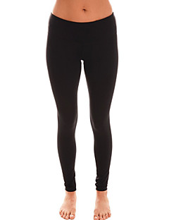 Jóga kalhoty Legíny Spodní část oděvu Prodyšné Nositelný Komprese Lehké materiály Streç Hladký Ayarlanabilir Natahovací Vysoká pružnost