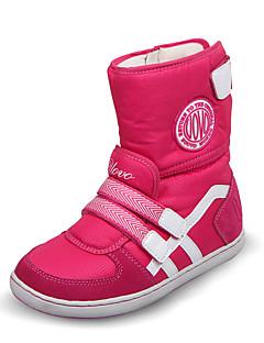 Mädchen-Stiefel-Kleid / Lässig-Wildleder / maßgeschneiderte Werkstoffe / PU-Flacher Absatz-Komfort / Rundeschuh / Modische Stiefel /