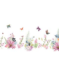 Dieren / Romantiek / Bloemen Wall Stickers Vliegtuig Muurstickers Decoratieve Muurstickers,PVC MateriaalWasbaar / Verwijderbaar /
