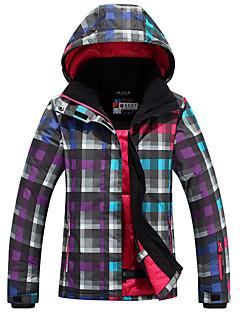 Roupa de Esqui Jaquetas de Esqui/Snowboard Mulheres Roupa de Inverno Poliéster Vestuário de InvernoImpermeável / Mantenha Quente / A