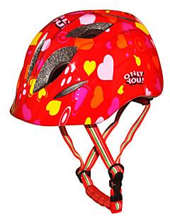 Capacete(Branco / Vermelho / Azul / Laranja,PC / EPS) -Esportes-Unisexo 10 Aberturas Ciclismo / Esportes de Neve / Patinagem Artistica