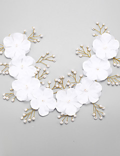Women's Rhinestone / Imitation Pearl / Chiffon Headpiece-Wedding / Special Occasion Headbands 1 Piece