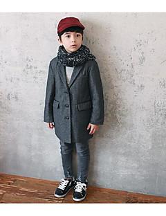 Jungen Anzug & Blazer-Formal einfarbig Wolle Herbst Schwarz