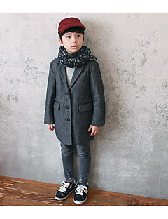Boy's Formal Solid Suit & BlazerWool Fall Black