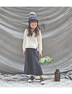 Girl's Casual/Daily Solid Clothing SetCotton Winter / Fall Beige