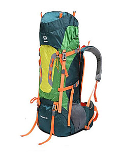 80 L Rygsæk pakker / Rygsæk Campering & Vandring / Klatring / Rejse Udendørs / Fornøjelse SportVandtæt / Varmeisolering / Regn-sikker /