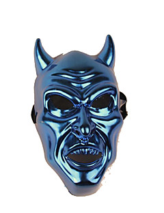 Halloween Props Monster Festival/Holiday Halloween Costumes Red / Blue Patchwork / Print Mask Halloween Unisex Engineering Plastic