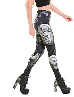 Women Print LeggingPolyester
