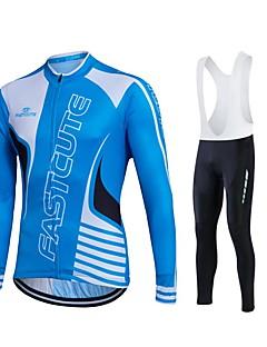 Fastcute Camisa com Calça Bretelle Homens Mulheres Unisexo Manga Longa Moto Calças Moletom Camisa/Roupas Para Esporte Meia-calça Tights