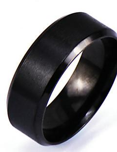 Pánské Široké prsteny Punkový styl Rock Přizpůsobeno bižuterie Slitina Circle Shape Šperky Pro Denní Ležérní Vánoční dárky