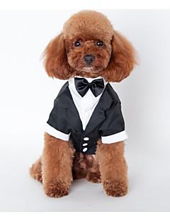 犬 セット 犬用ウェア 結婚式 ブリティッシュ ブラック