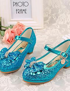 Tacchi-Formale-Decolleté Light Up Shoes-Basso-PU (Poliuretano)-Blu Rosa Argento