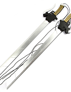 Attack på Titan Mikasa Ackermann Double Cosplay Sword