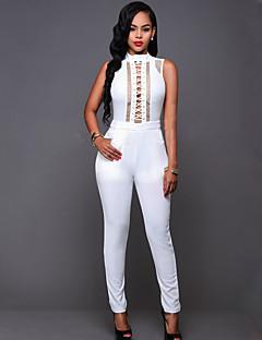 Damen Jumpsuits - Sexy / Einfach Ärmellos Polyester Mikro-elastisch