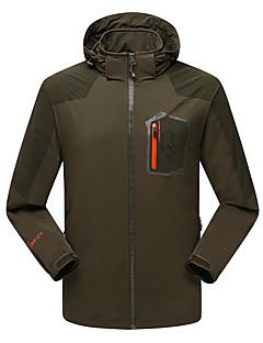 Hiking Softshell Jacket / Windbreakers Men'sWaterproof / Ultraviolet Resistant / Anti-Eradiation / Wearable /