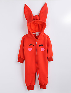 Girl's Casual/Daily Print Overall & JumpsuitCotton Fall Orange