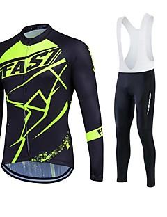a2707fd42d9c fastcute Φανέλα ποδηλασίας Γυναικεία Ανδρικά Γιούνισεξ Μακρύ Μανίκι  ΠοδήλατοΠαντελόνια Φόρμα Μπουφάν Φλις Αθλητική μπλούζα Καλσόν