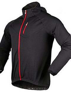 Sports Cycling Jacket Men's Long Sleeve Bike Breathable / Thermal / Warm / Comfortable Tops Fleece Classic WinterExercise & Fitness /