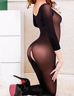 Sexy open fun Jumpsuit stockings