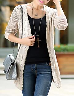Women's Casual Stretchy Medium Long Sleeve Cardigan (Knitwear)SF7F02
