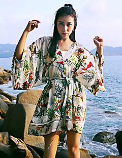 Damen Jumpsuits - Boho ¾-Arm Polyester Unelastisch