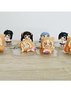Himouto PVC 6cm Anime Action Figures Model Toys Doll Toy 1set