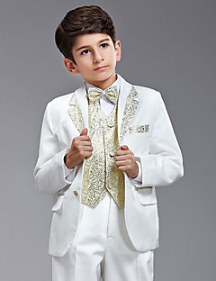 Cotton / Polester/Cotton Blend Ring Bearer Suit - Six-piece Suit