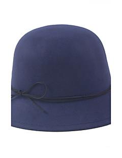 Women Faux Fur Beret Hat / Bowler/Cloche Hat / Bucket Hat / Fedora Hat / Baseball Cap,Vintage / Cute / Party / Work / Casual Fall / Winter