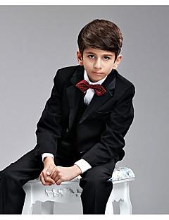 Bavlna Oblek pro mládence - 6 Pieces Obsahuje Tričko / Vesta / Motýlek